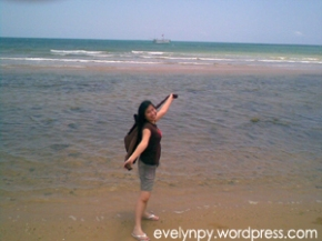 At Selopeng Beach