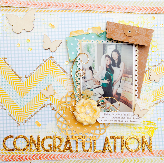 Congratulation full page by evelynpy