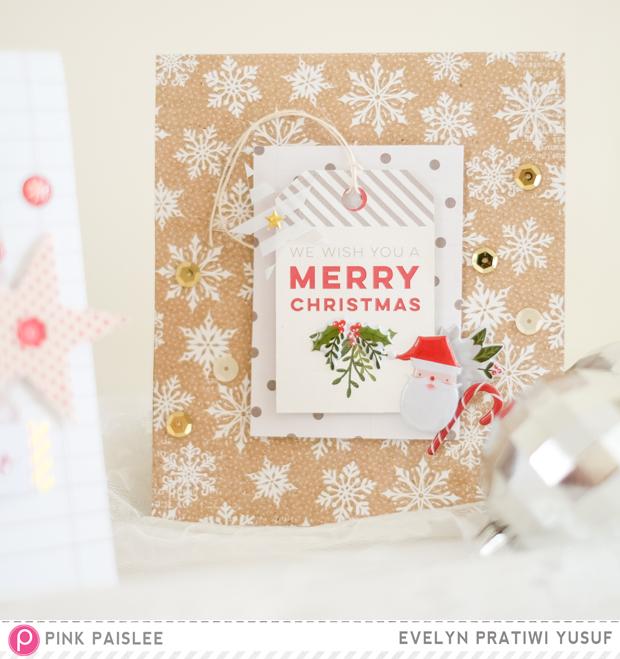 @pinkpaislee @geekgalz diy card christmas yulitude ppyulitude